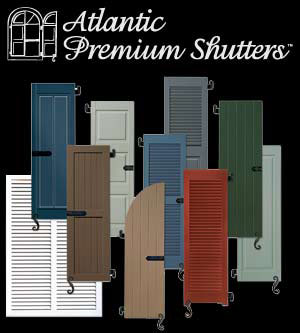 Exterior Shutters - Doors & Windows - Atlantic Prmium